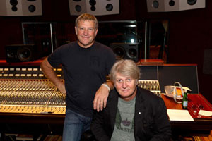 Tom Cochrane and Alex Lifeson