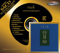 SACD Version of Rush's Counterparts Coming in December