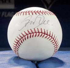 Geddy Lee Autographed Baseball
