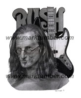 Geddy Lee Portrait
