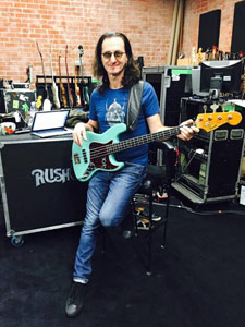Rush Rehearsing in Los Angeles for R40