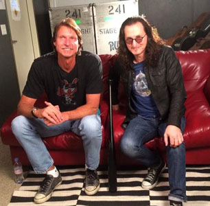 New MLB Interview: On Their Game: Randy Johnson and Geddy Lee