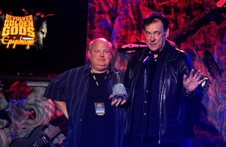 Rush receives Revolver Golden Gods Lifetime Achievement Award