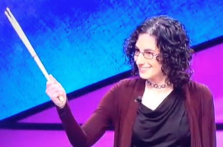 Rush Fan Wins Jeopardy! - Bets $2112 and Shows Off Neil Peart Drum Sticks