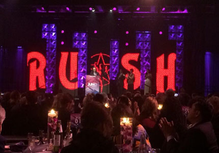 Rush Receive Allan Waters Humanitarian Award at the 2015 Juno Awards Ceremony