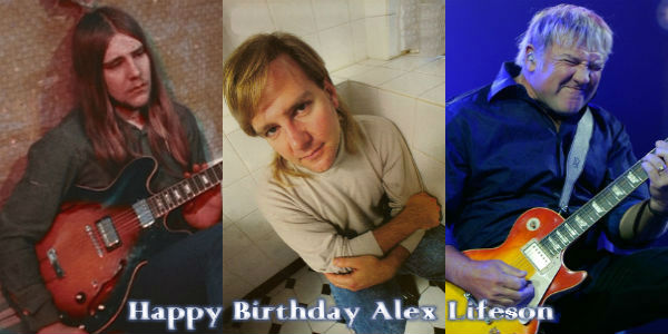 Alex Lifeson Turns 64