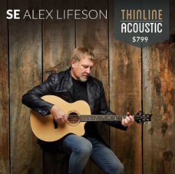 Alex Lifeson SE Thinline Acoustic Guitar Announced from PRS Guitars