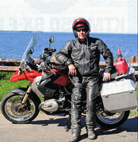 Neil Peart in MotorCyclist Magazine - April 2012