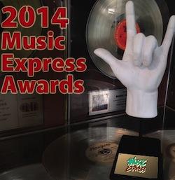 Rush Big Winners of the 2014 Music Express Awards
