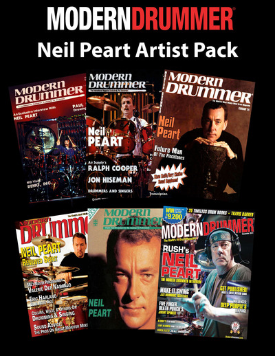 Modern Drummer's Neil Peart Artist Pack Now Available