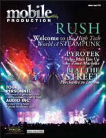 Mobile Production Monthly Feature on Rush