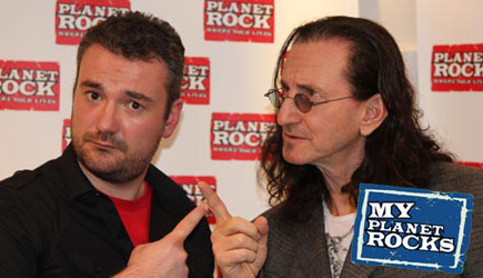 My Planet Rock Interview with Geddy Lee