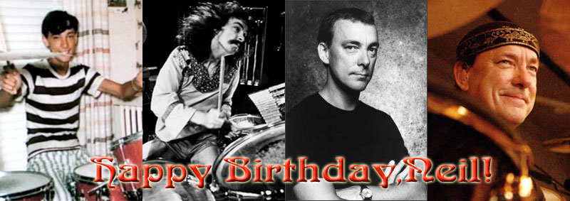Neil Peart Celebrates His 66th Birthday Today