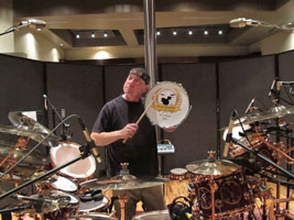 Neil Peart Inducted Into the 2011 Classic Drummer Magazine Hall of Fame