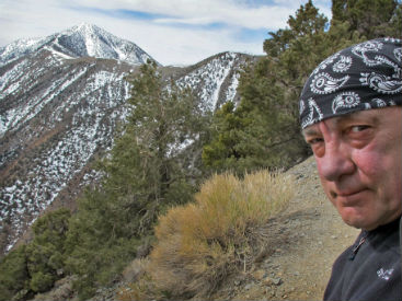 Neil Peart News, Weather, and Sports Update - April 2014 - Telescope Peak Revisited