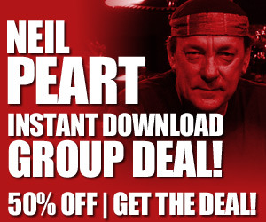 Neil Peart Taking Center Stage Instant Download Discount