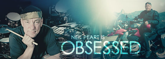 Neil Peart Obsession with Sabian