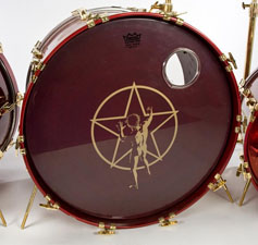 Neil Peart's TAMA Drum Kit
