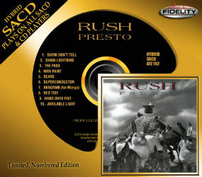 SACD Version of Rush's Presto