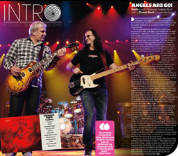 Rush Featured in Classic Rock Presents PROG Magazine - New Clockwork Angels Details