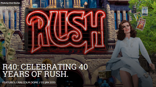 PROG Magazine: R40: Celebrating 40 Years of Rush