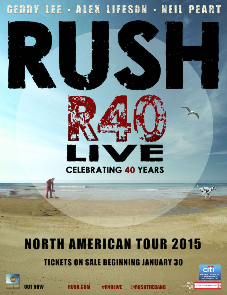 Alex Lifeson Talks About Rush's R40 Tour in New Interview