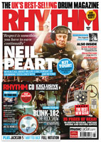 Neil Peart - Rhythem Magazine - August 2011