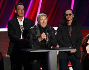 Rock & Roll Hall of Fame Induction Ceremony Featuring Rush Airs Saturday, May 18th
