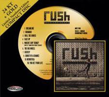 Rush Roll the Bones 24K Gold CD