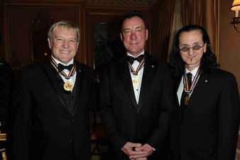 Rush Receive Governor General's Performing Arts Award