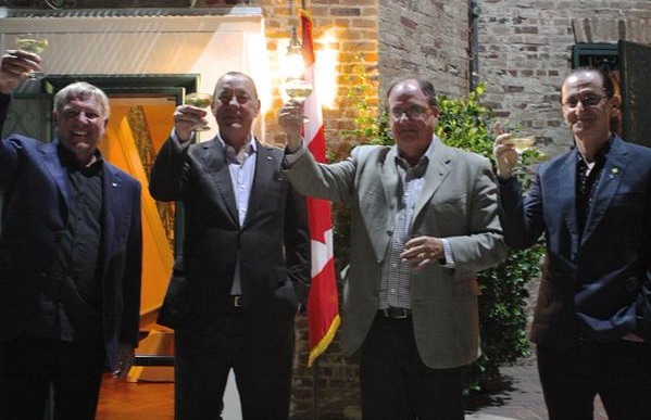 Canadian Consulate of Los Angeles Honors Rush for Canadian Excellence