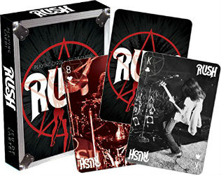 Rush Sectors Playing Cards