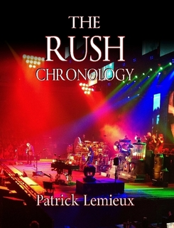 The Rush Chronology by Patrick Lemieux Now Available