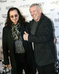 Win A Day with Geddy Lee and Alex Lifeson