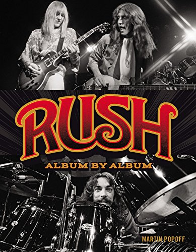 Rush: Album by Album Book Coming May 2017