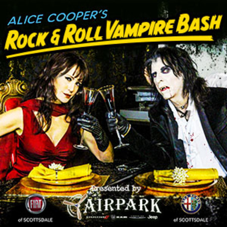 Alex Lifeson to Participate in Alice Cooper's Rock & Roll Vampire Bash Gold Classic
