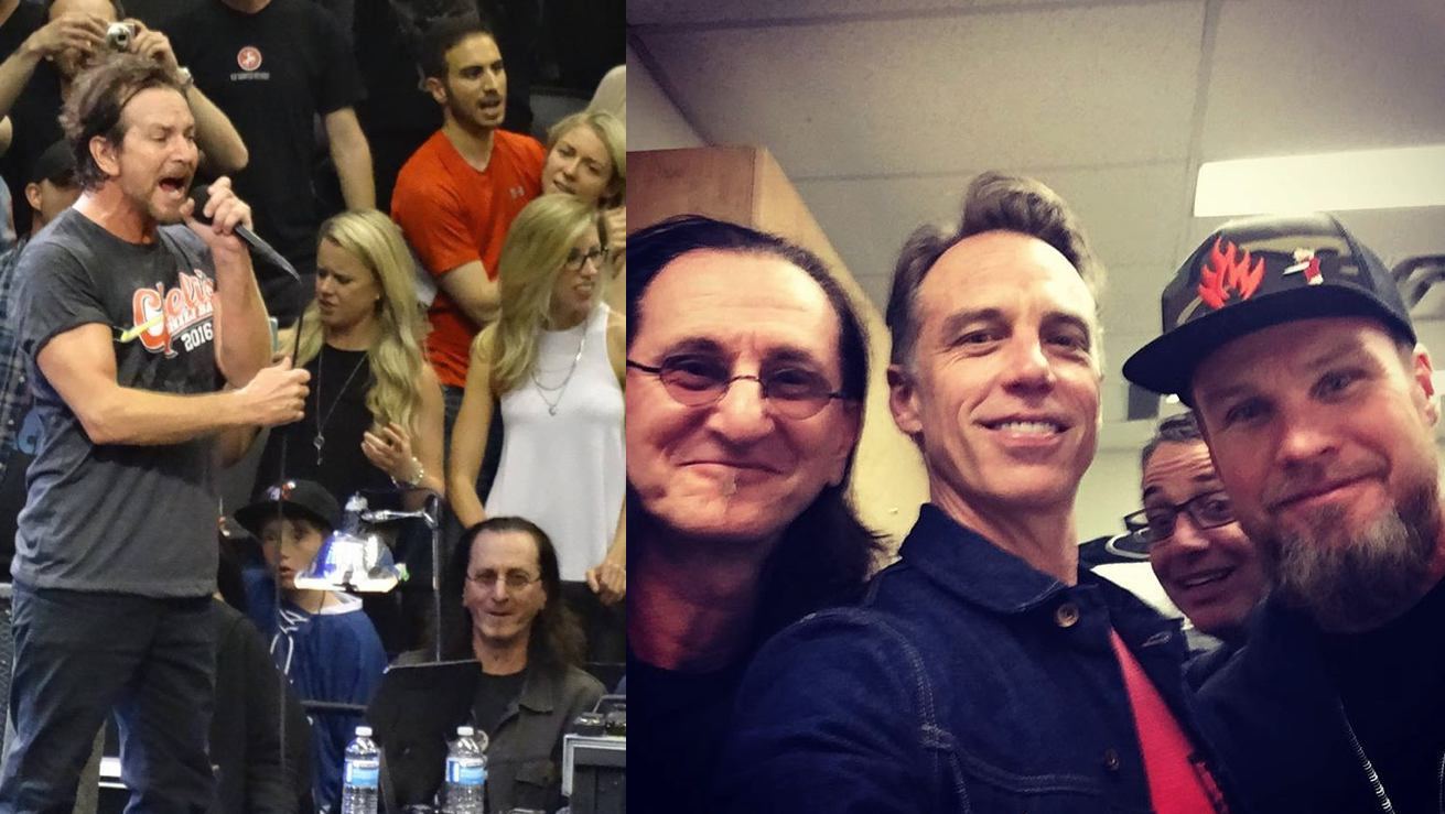Geddy Lee Attends Pearl Jam Concert, Gets Shout-Out by Eddie Vedder
