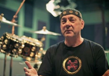 Neil Peart Featured in Latest Edge Factor Film