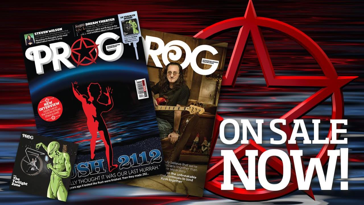 40th Anniversary of 2112 Featured in the February 2016 Issue of Prog Magazine