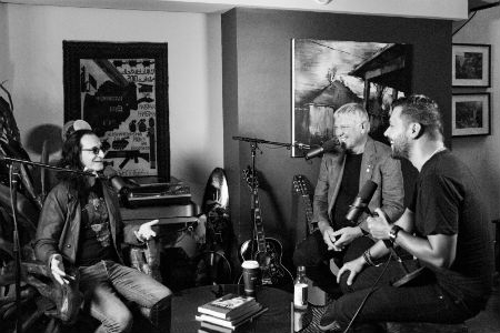 Geddy Lee and Alex Lifeson Appear on 'The Strombo Show' - Extended Interview Now Online