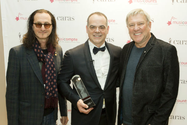 Rush and MusiCounts Sponsor 2016 Teacher of the Year Award