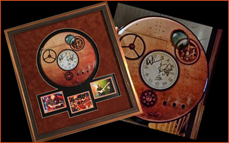 Enter to Win a Signed Rush Time Machine Drumhead