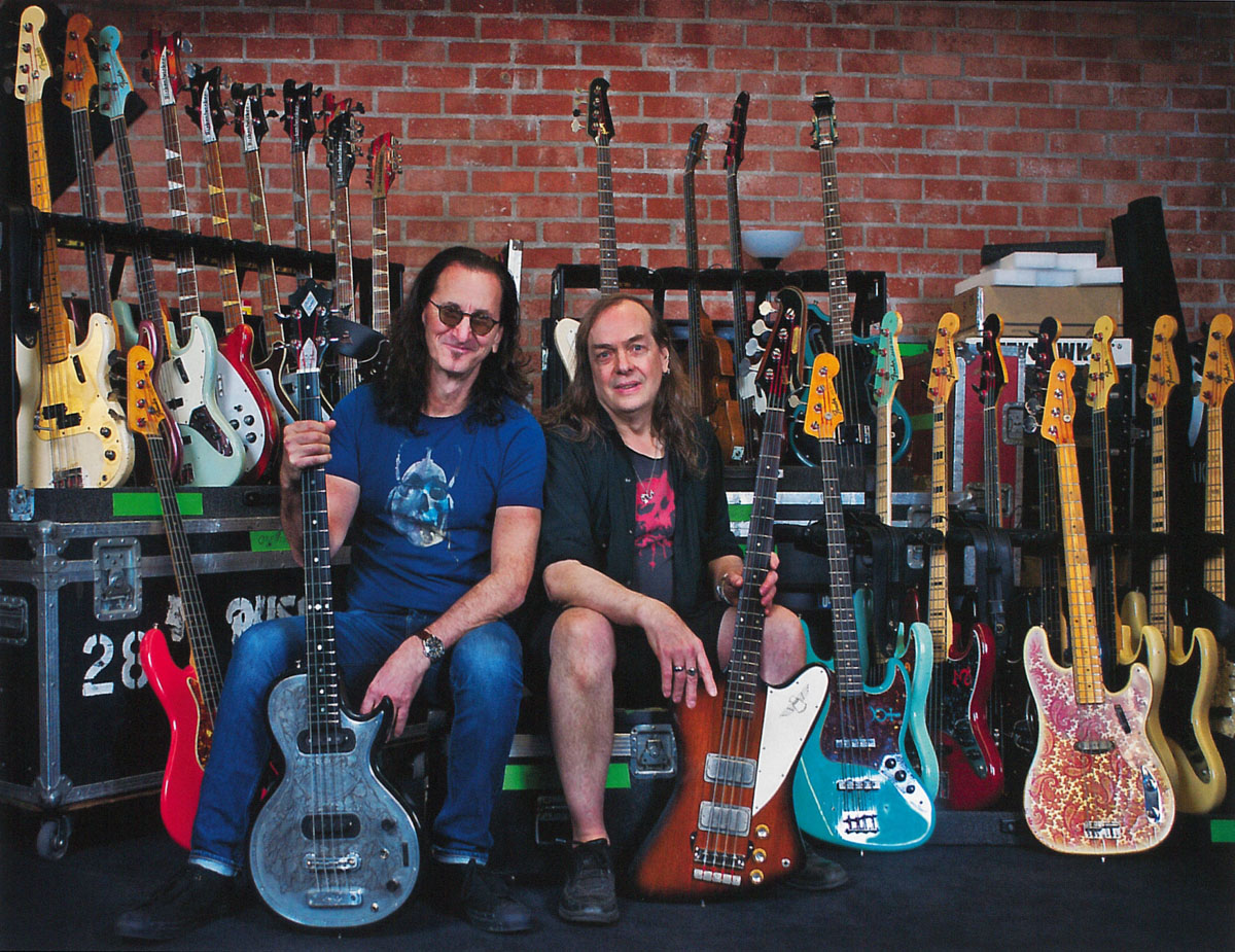 Geddy Lee's Big Beautiful Book of Bass Coming Next Fall