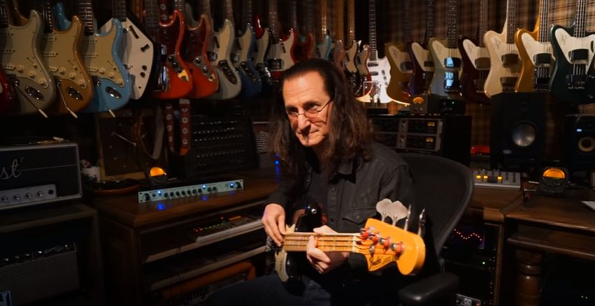 Geddy Lee Interview (Part 1) with Signature SansAmp GED-2112 Manufacturer Now Online