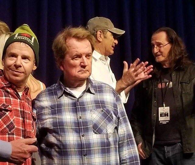Geddy Lee Joins Bob & Doug McKenzie to Perform Take Off! at Fundraiser Event