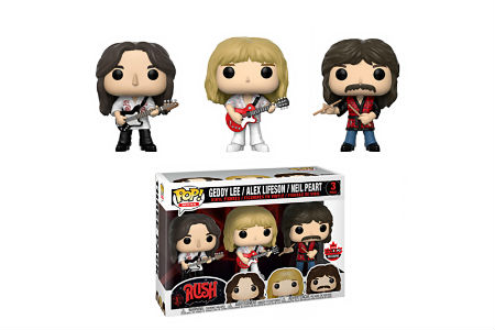 Rush Immortalized as Limited-Edition Funko Pop! Figures