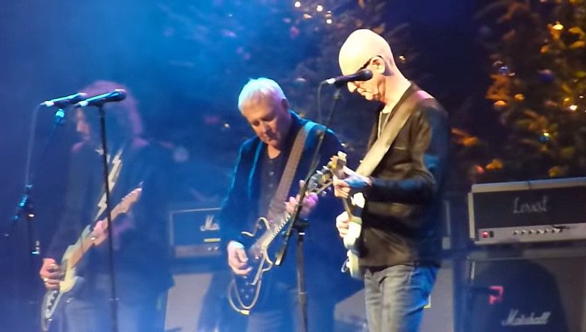 Alex Lifeson Performs at the 2018 Andy Kim Christmas Concert