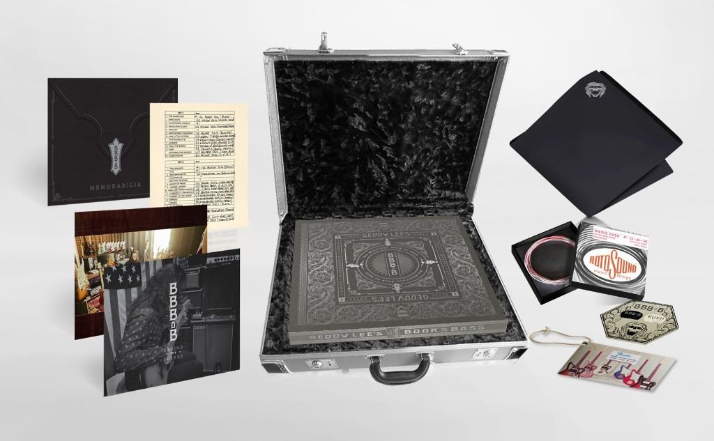 Luxe and Ultra-Limited-Edition Versions of Geddy Lee's Big Beautiful Book of Bass
