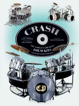 Neil Peart's Drum Kit Featured in New Book - CRASH: The World's Greatest Drum Kits