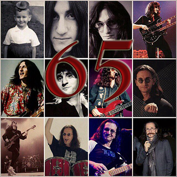 Geddy Lee Celebrates His 65th Birthday Today!